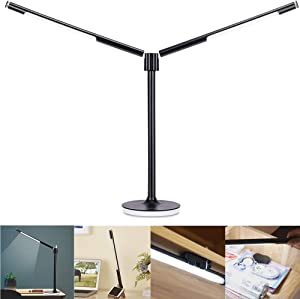 Gerintech Modular Desk Lamp with Twin Lights for Home, Office, Dorm Room(9)