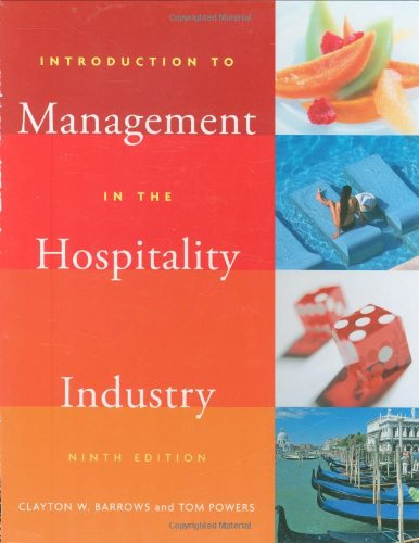 download introduction to management in the hospitality