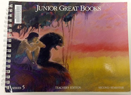 Junior Great Books Teacher's Edition Series 5 Second Semester