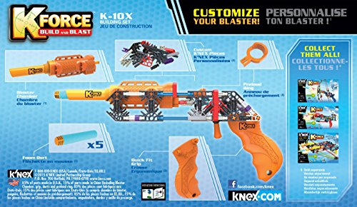 K'NEX K-Force K-10X Building Set