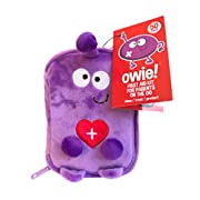 Owie! Small Travel First Aid Kit, Mom's Compact Emergency Essentials, Hangs on Strollers, Backpacks, Perfect for Travel and Outdoor Adventures Baby Shower Gift, Latex Free