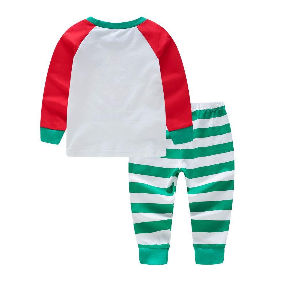 Gyratedream Pyjamas Damen M/änner Kinder Baby Schlafanz/üge Weihnachten Familie Pajama Sets Klassischer Brief Gedruckt Homewear Eltern-Kind Nachtw/äsche Sleepwear