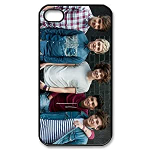 Customize One Direction Zayn Malik Liam Payn Niall Horan Louis Tomlinson Harry Styles Case for iphone4 4S Designed by HnW Accessories