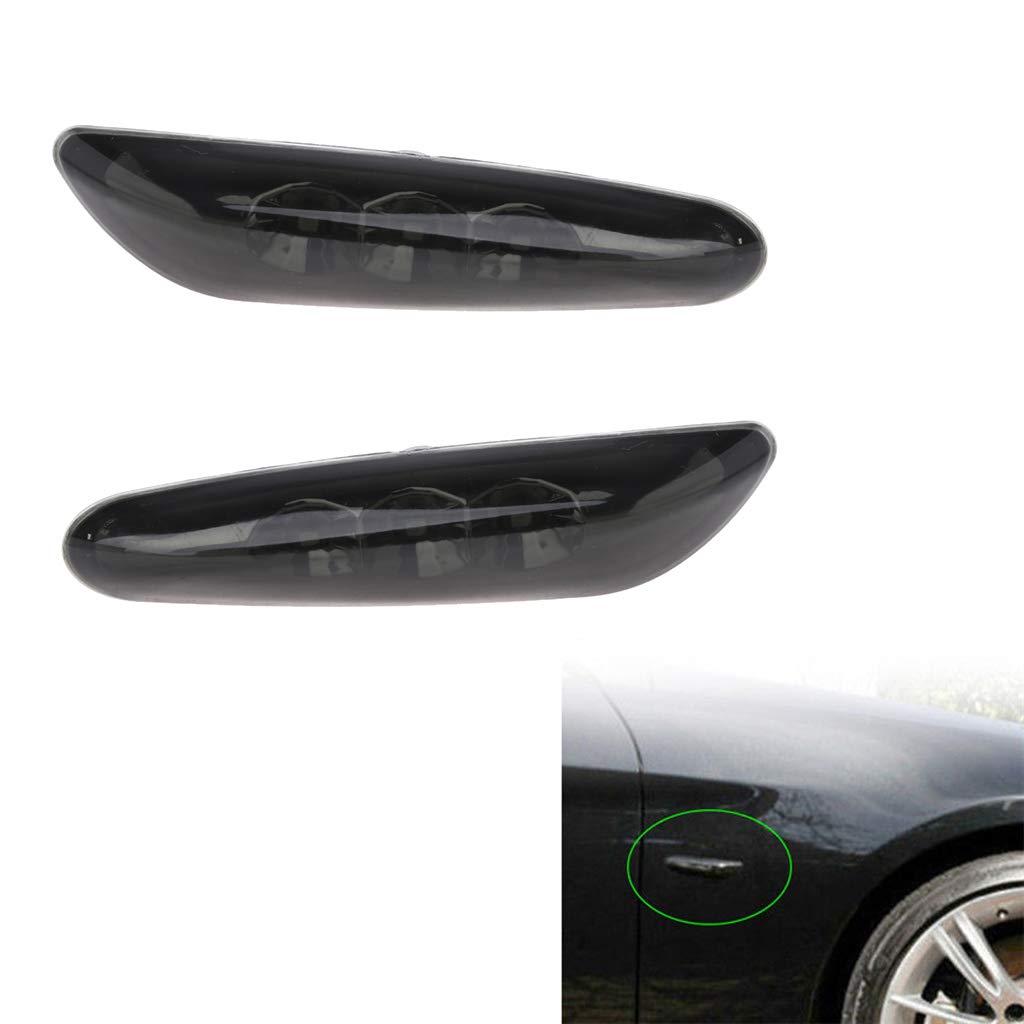 indicador de luces para BMW E82 E60 E90 Kalttoy 2 luces LED laterales de se/ñalizaci/ón de giro