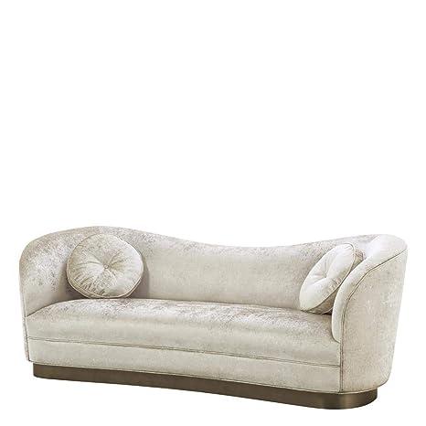 Amazon.com: Off-White Sofa | Eichholtz Jackie | Mirage ...