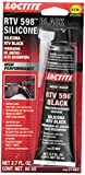 Loctite 37467 Black RTV 598 High Performance Silicone. 80 ml.