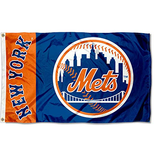 WinCraft New York NY Mets Flag 3x5 MLB Banner