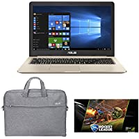 ASUS VivoBook M580VD-EB76 15.6 Ultrabook Laptop - Intel Core i7-7700HQ, 2.8GHz, GTX 1050 4GB, 16GB RAM, 256GB SSD + 1TB 5400RPM HDD, Windows 10 + Gaming Bundle