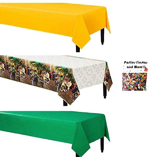 The Lego Ninjago Movie Coordinating Table (Ninjago Party Supplies Party City)