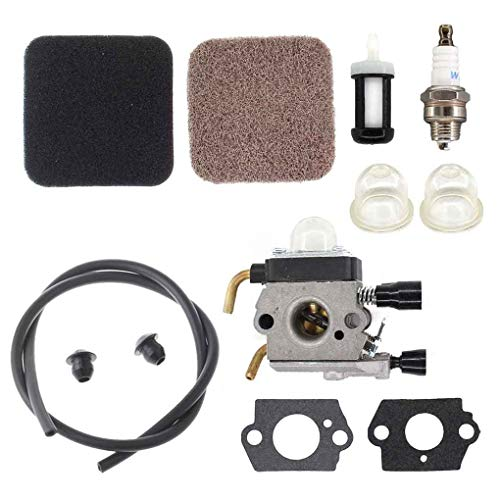 Topfire Carburetor Fuel Line Air Filter Oil Bubbles Grommet Fits for STIHL FS85 FS75 FS80 KM85 HS75 HS80 HS85 Carb
