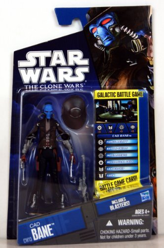 Star Wars, The Clone Wars 2010 Series, Mandalorian Police Officer #CW09, 3.75 Inches