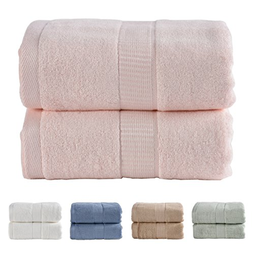 JML 2 Pieces Bath Towel Sets, Heavy Bath Towels 27