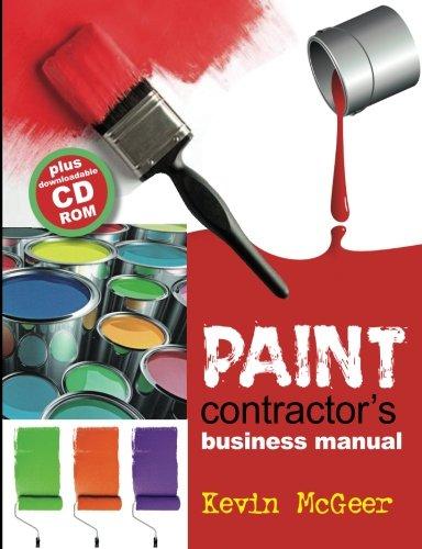 Read Online Paint contractors business manual pdf epub