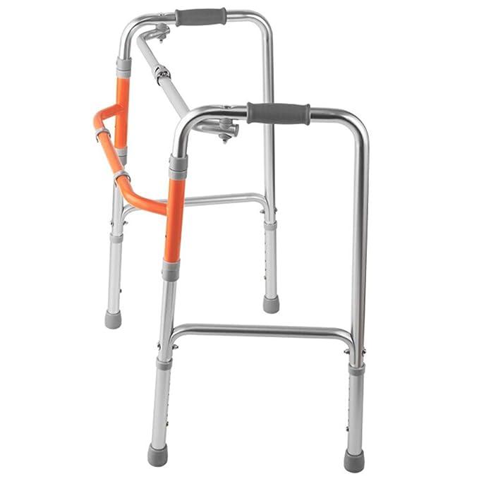L-Y Andador de Aluminio Discapacitado Walker Muletas Old Walker ...