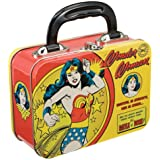 Vandor 75270 Wonder Woman Small Tin Tote, Multicolored