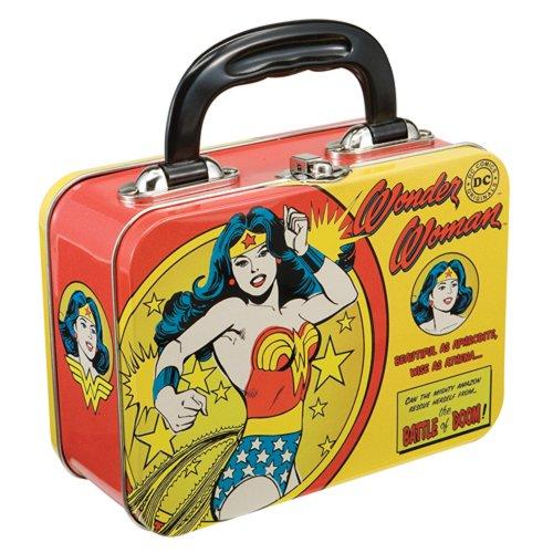 Wonder Woman Tin Tote - Lunch Box