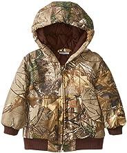 Carhartt boys Active Jac Flannel Quilt Lined Jacket Coat