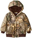 Carhartt Baby Boys' Camo Active Jac Inf Tod, Brown, 18 Months