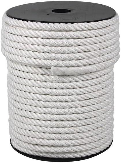 Cofan 08101044A Cuerdas de Nylon Mate de 4 Cabos, 12 mm x 50 m