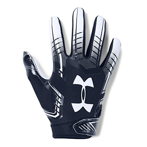 Under Armour Boys' F6 Football Gloves, Midnight Navy (410)/White, Youth Small