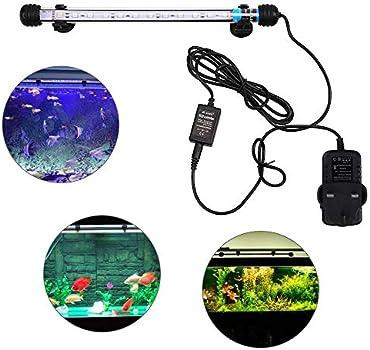 18 cm, luz de acuario sumergible L/ámpara sumergible para acuario VARMHUS