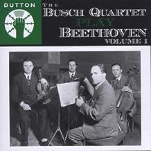BEETHOVEN. String Quartets Vol.1. Busch Quartet