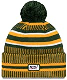 New Era Knit Green Bay Packers Green On Field