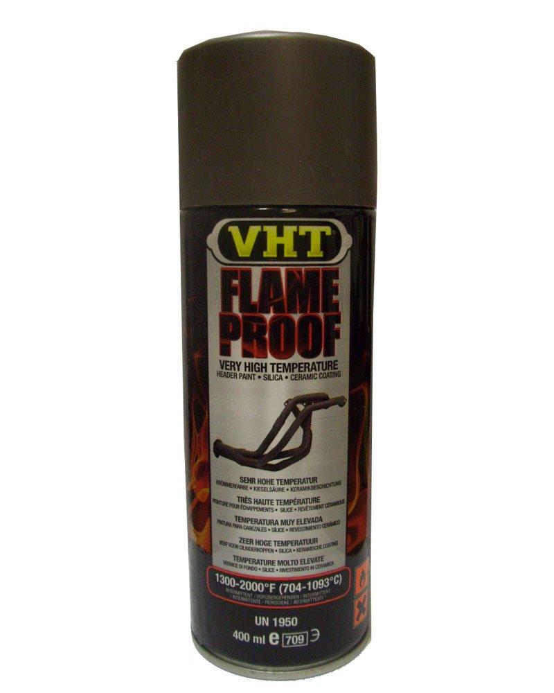 Spray VHT Flameproof anticaló rico hasta 1093 grados color Hierro colado
