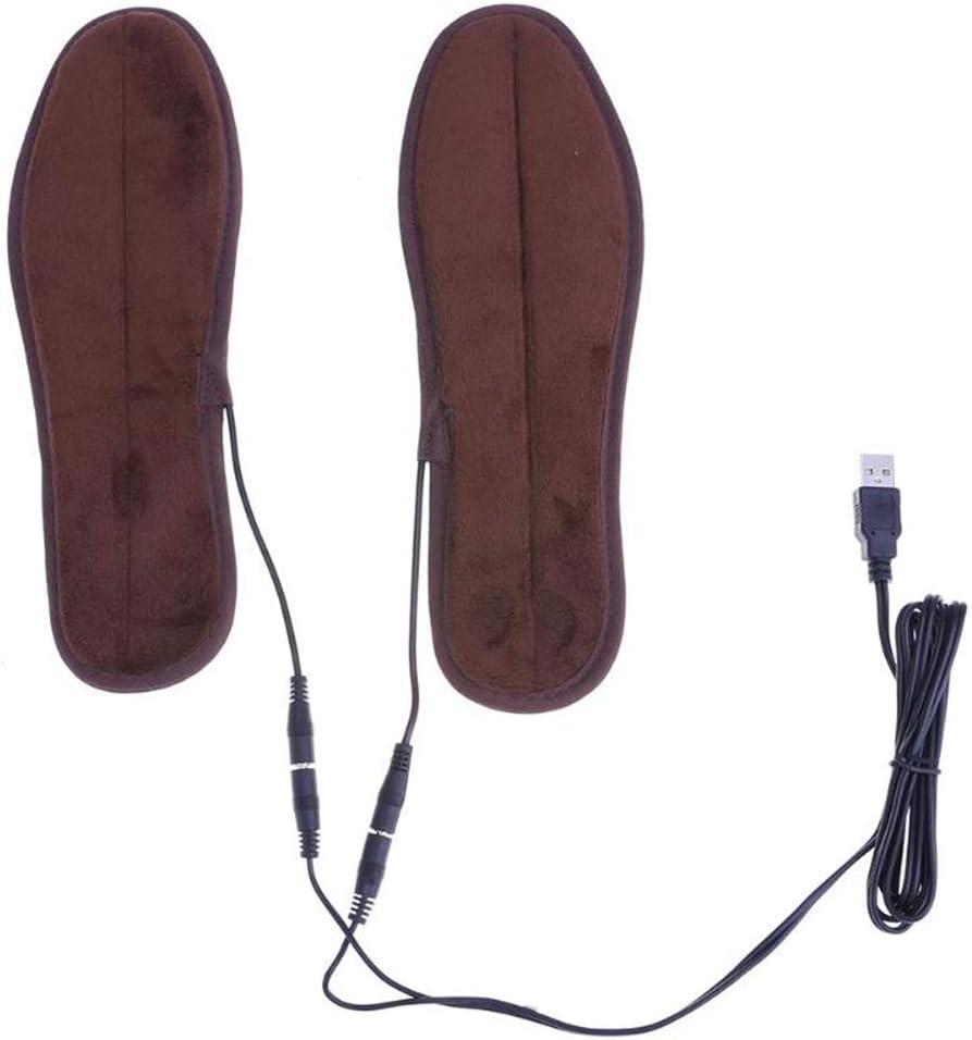 WXF Secador de Zapatos USB, Zapatos de la Plantilla eléctrica en Invierno para Mantener Calientes Las Plantillas para Las Botas Hombres Mujeres secador de Zapatos