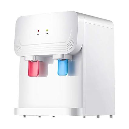 HYYBZ Tipo de Escritorio Frío Caliente Eléctrico Dispensador de Agua, Mini Ahorro de Energía Agua