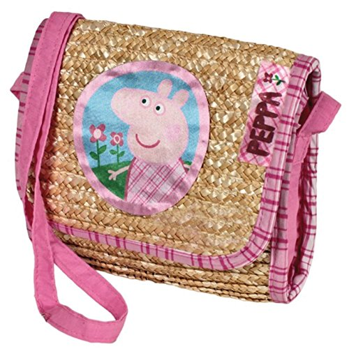 Peppa Pig bolso paja