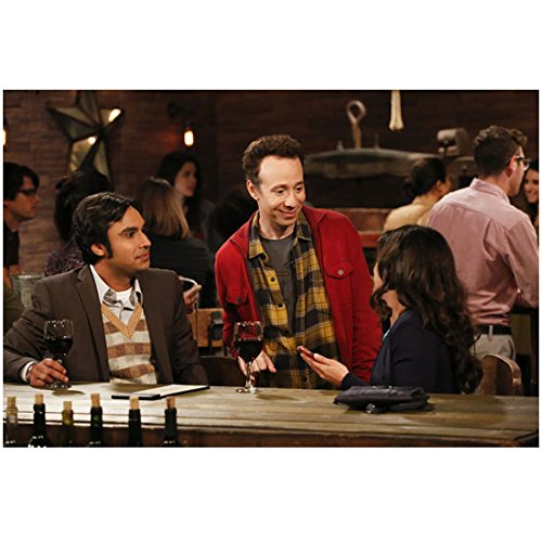 Stuart Photograph (The Big Bang Theory Kunal Nayyar as Raj Looking at Girl with Stuart 8 x 10 Inch Photo)