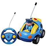 Holy Stone Cartoon R/C Police Car Remote Control Toys for Toddlers
