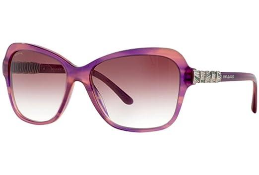 Amazon.com: Bvlgari 8142b 52548h púrpura 8142b mariposa ...