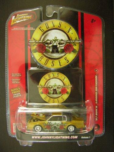 Johnny Lightning '87 Guns & Roses Buick Grand International
