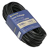 Lightkiwi S5650 14AWG 2-Conductor14/2 Direct Burial Wire for Low Voltage Landscape Lighting, 100ft