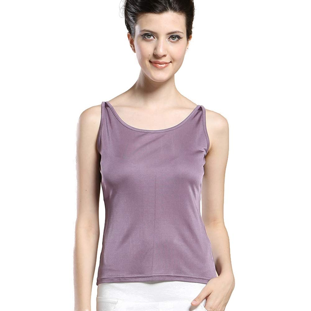 Forever Angel Womens 100/% Silk Knitted Casual Tank Silk