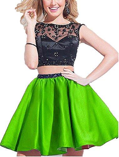 Linea Donna Verde A Ad Lime Vestito Fanciest 5xwqIX6HH