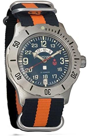 Vostok Komandirskie Russian Air Force VVVS orologio da polso meccanico da uomo #431928