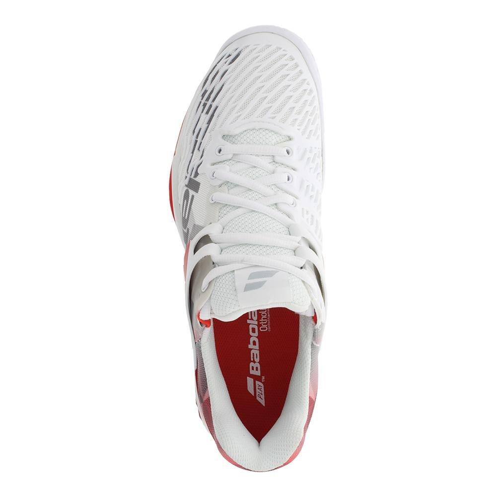 3798c16c Zapatillas de tenis para hombre All Court de Babolat Propulse Fury Blanco /  chino rojo