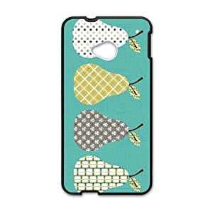 Special Design Cases HTC One M7 Cell Phone Case Black Orla Kiely Ufojh Durable Rubber Cover