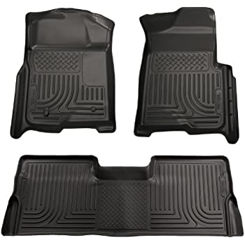 Superior Husky Liners Front U0026 2nd Seat Floor Liners Fits 09 14 F150 SuperCrew
