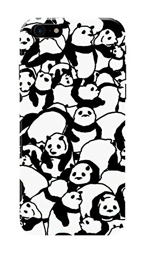 Panda Wallpaper Black Hard Printed Case Cover By Amazon In