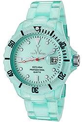 Toy Watch Pearlized Plasteramic - Light Blue Unisex watch #FLP11LB