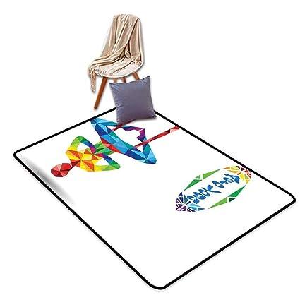 Amazon.com: Large Outdoor Indoor Rubber Doormat Yoga Aerial ...