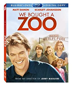 Cover Image for 'We Bought a Zoo (Blu-ray/ DVD + Digital Copy)'