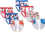 Marvel Little Boys' Spiderman 7 Pack Brief, Multi, 4T