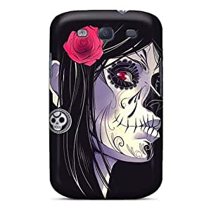 Excellent Hard Phone Cases For Samsung Galaxy S3 (uzN12223QImc) Support Personal Customs Vivid Avenged Sevenfold Band A7X Pattern