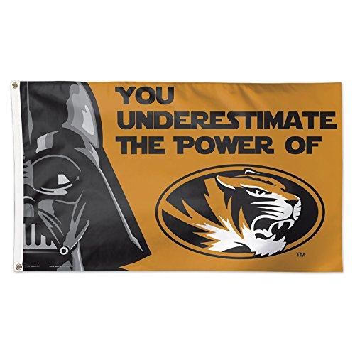 NCAA Star Wars Darth Vader Deluxe - Bandera, Bandera, Multicolor, 3 x 5'