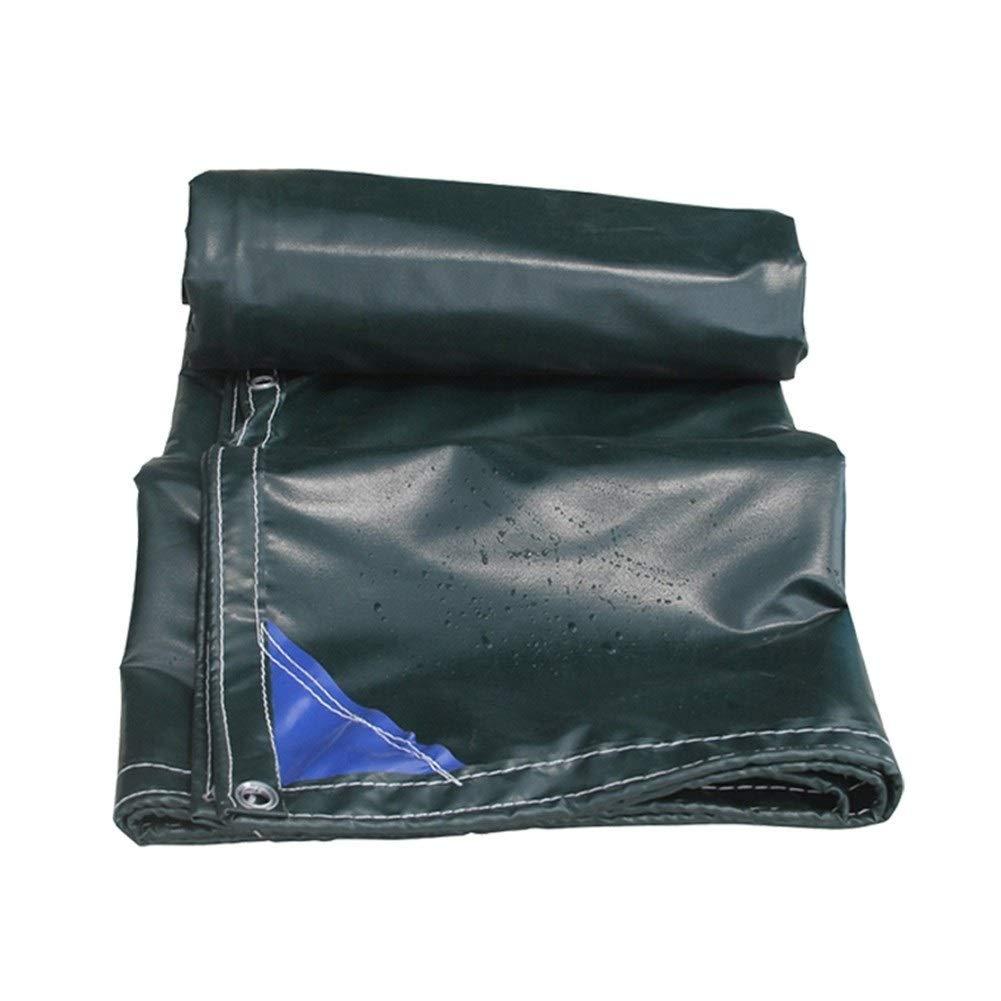 XF 耐火布肥厚防雨難燃オーニング布車トラック防水シートキャンバスオーニング布、利用可能なサイズの様々な アウトドアキャンプ用品 (Size : 6mX7m)  6mX7m